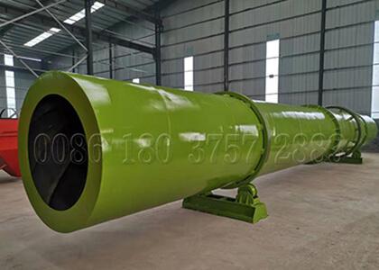 Fertilizer Drier for Large Scale Organic Fertilizer Production