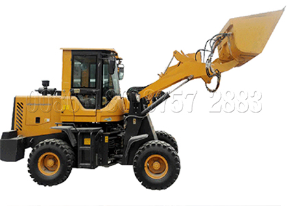 Forklift feeder machine