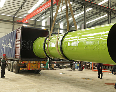 Loading of granular organic fertilizer production line to Sri Lanka