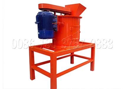 Vertical organic waste compost crusher