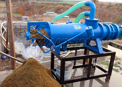 Dewatering Machine Used in Cow Manure Agricultural Waste Processing