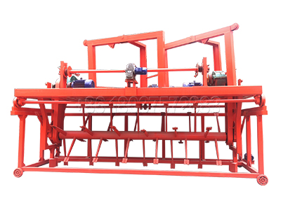 Groove Type Compost Turner for Agricultural Waste Composting in Trench