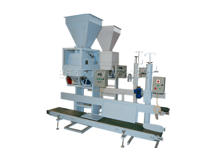 Single bucket automatic packing scale for chicken waste processing