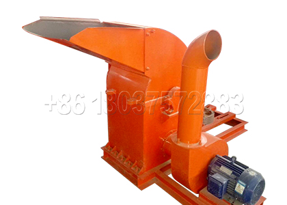 Straw Crusher Used in Agricultural Waste Treatment
