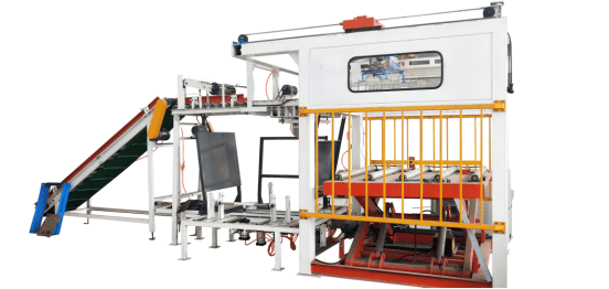 High position manipulator palletizing machine
