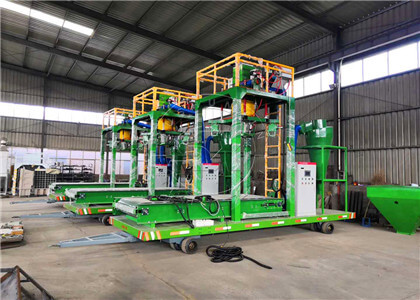Horse manure fertilizer bagging Machine