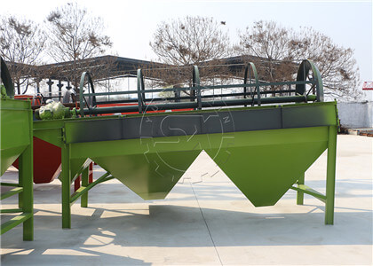 Rotary Screener for Quality Powdery Manure Production