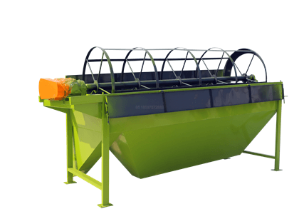 Rotary screener for cow dung fertilizer sieving