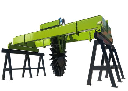 ShunXin Wheel Type Compost Turner Machine for Organic Waste Composting
