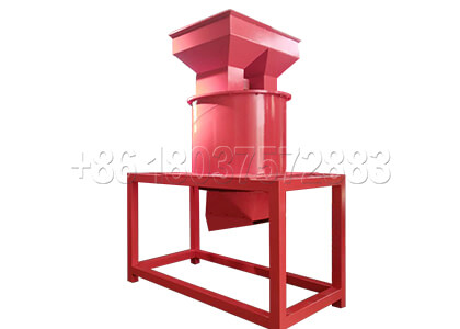 Vertical crusher for making farm waste fertilizer