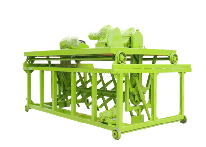 groove type manure composting equipment