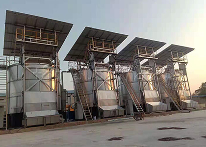 invessel Composting Machine for Cow Dung Powder Fertilizer Production Line